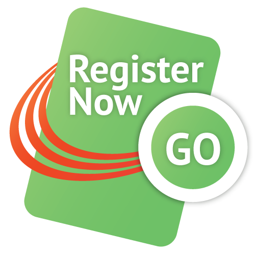 Register Now - Go!